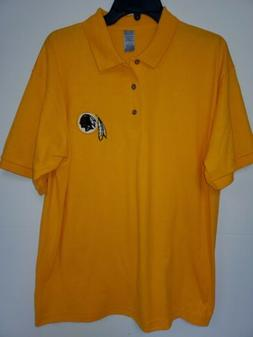 "0703 Mens NFL Apparel WASHINGTON REDSKINS ""Polo"" Golf Footba"