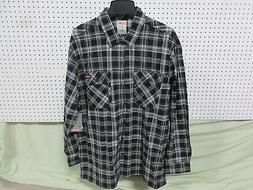 1 Dickies Mens Large Flannel Regular Long Sleeve Clothing Ad
