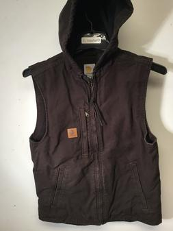 Carhartt 101687-201 Fleece Lined Hooded Knoxville Vest