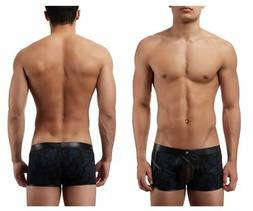 134238 strapped and bound strappy short boxer