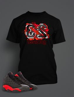 23 Got Bred Tee Shirt to Match Retro Air Jordan 13 Shoe Mens