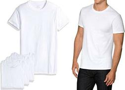 Fruit Of The Loom 4 Pack Mens T Shirt 100% Cotton White | Si