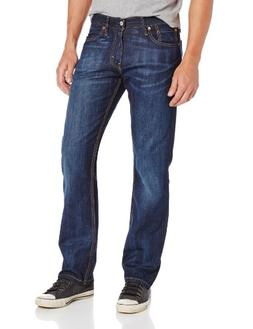 Levi's Men's 514 Straight fit Stretch Jean, Shoestring, 35x3