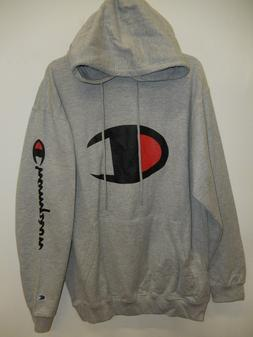 """9426-7 Mens Apparel Authentic CHAMPION """"Hooded"""" Pullover SWE"""