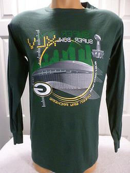 "9814 MENS NFL Apparel GREEN BAY PACKERS ""XLV SUPER BOWL""  Sh"