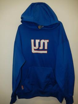 9916-7 Mens NFL Apparel NEW YORK GIANTS Therma Base Hooded H