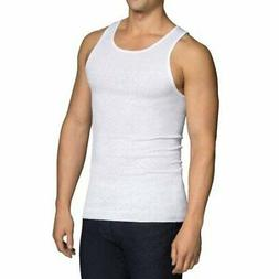 Fruit of the Loom A-Shirts 6-Pack White Big Man Size 3XB-4XB