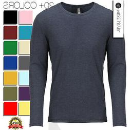 Next Level Apparel Men's Triblend Long Sleeves Crew Neck T-S