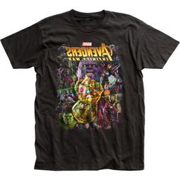 Avengers Infinity War Movie Group Shot Marvel Adult T Shirt