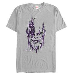 avengers infinity war thanos face mens graphic