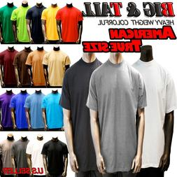big and tall size men plain heavy