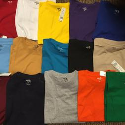 Big and Tall Tees - Crew Neck Basic T-Shirts Premium Quality