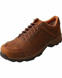 Twisted X Casual Shoes Mens Hiker ST Red Buckle Saddle MHKS0