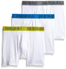 "Under Armour Men's Charged Cotton Stretch 6"" Boxerjock - 3"