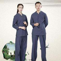 Chinese Adults Unisex Tai Chi Uniforms Kung Fu Clothing YOGA