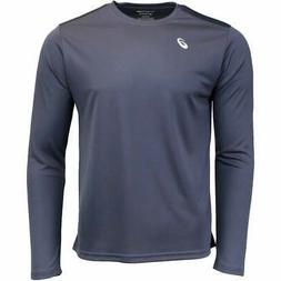 ASICS Circuit 8 Long Sleeve Tee  Athletic   Tops - Grey - Me
