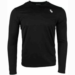 ASICS Circuit 8 Long Sleeves  - Black - Mens