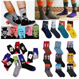 Fashion Famous Painting Art Socks Novelty Funny Novelty For