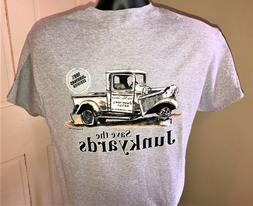 Flathead Apparel Mens T-Shirt Sport Grey Gildan Car Show Cru