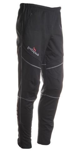 4ucycling Men's Fleeced Training Pants, Black, M
