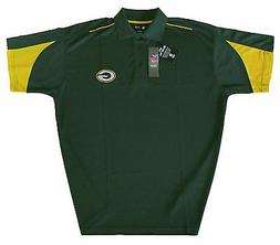 Green Bay Packers NFL Men's Apparel Tipped Performance Polo