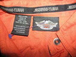 HARLEY DAVIDSON MOTOR CLOTHES, MEN'S SIZE: LARGE, COLOR: BLA