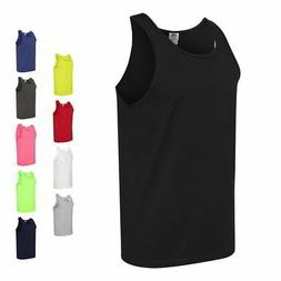 Fruit of the Loom Heavy 100% Cotton HD Mens Sleeveless Tank