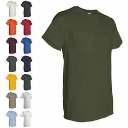 Fruit of the Loom Heavy Cotton HD Mens T Shirt with a Left C