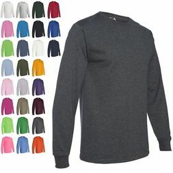 Fruit of the Loom Heavy Cotton Long Sleeve Mens T Shirt 4930