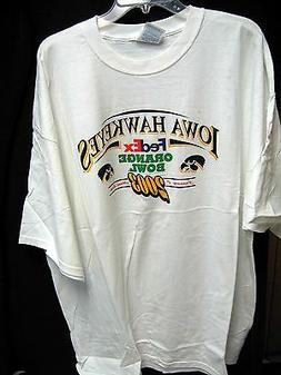 Iowa Hawkeyes Football 2003 ORANGE BOWL T-SHIRT - SIZE 3X -