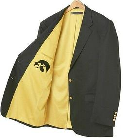 Iowa Hawkeyes Team Blazer Licensed Logo - Sport Coat - Short