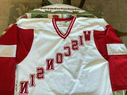 Koronis Sports Apparel Wisconsin Badgers Men's Sewn Hockey