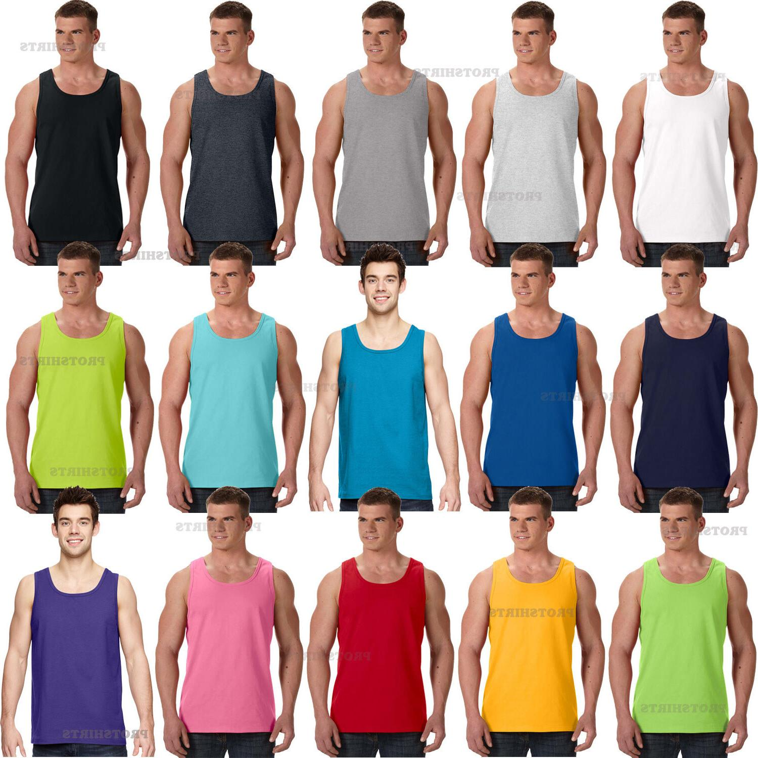 Fruit of the Loom - 100% cotton HD Cotton Men's Tank Top - 3