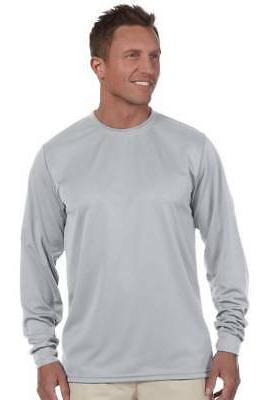 100 percent polyester moisture wicking long sleeve