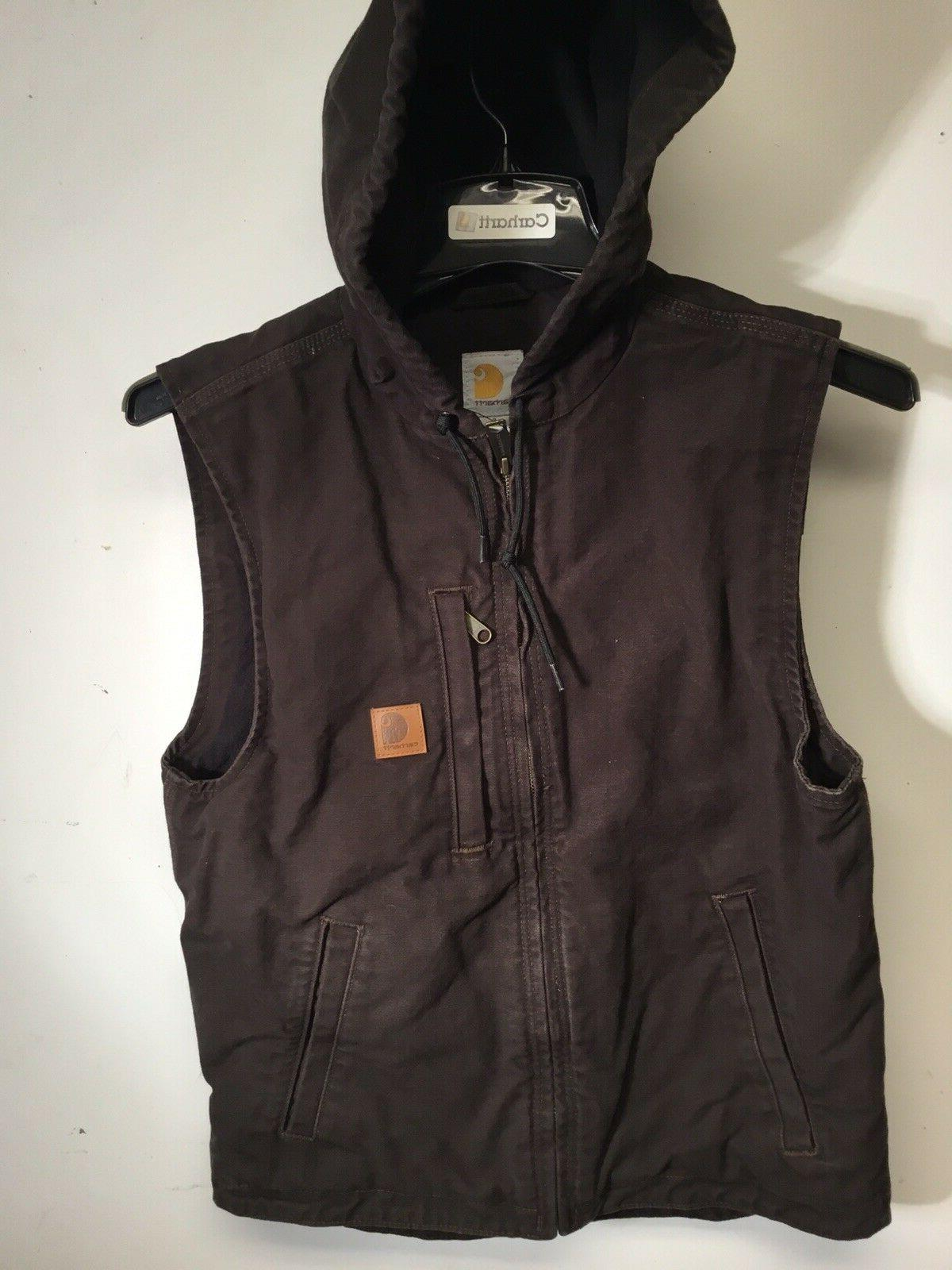 101687 201 fleece lined hooded knoxville vest