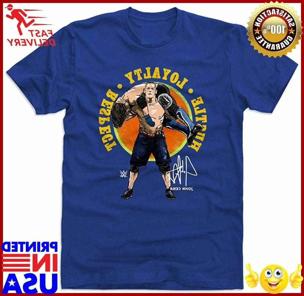 500 level john cena shirt wwe mens
