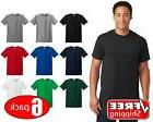 6 PACK Gildan Heavy Cotton Short Sleeve T Shirt Mens Blank U