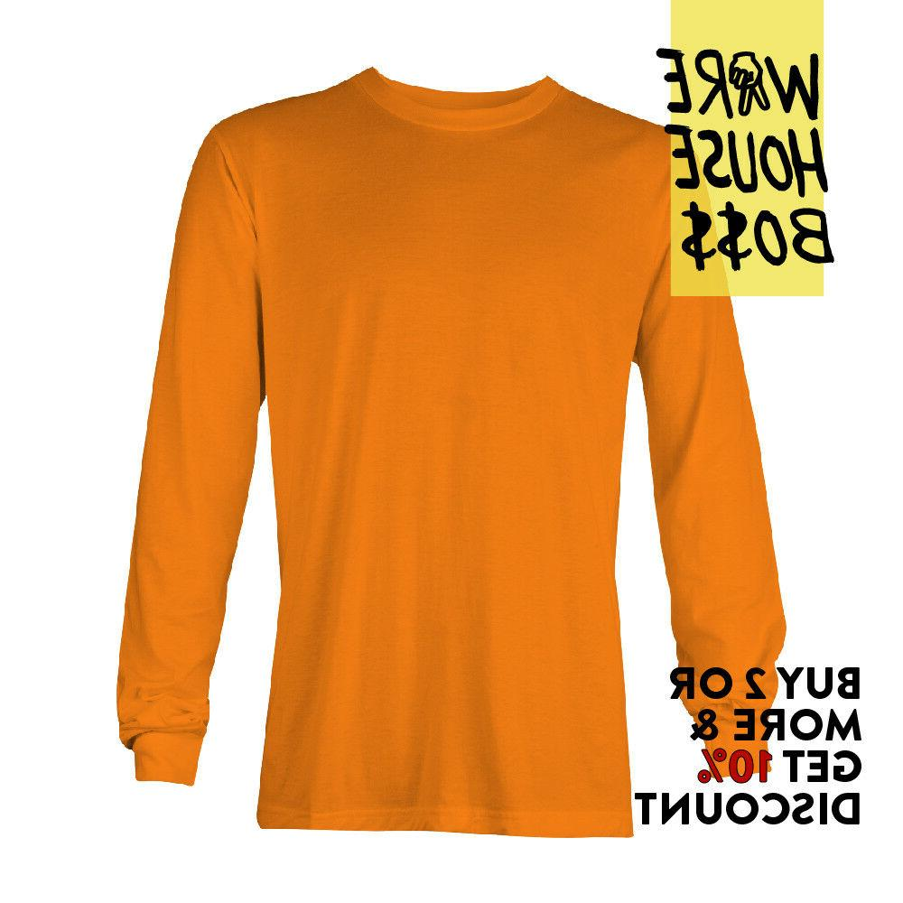 AAA APPAREL MENS LONG SLEEVE SHIRT SHIRTS TEE