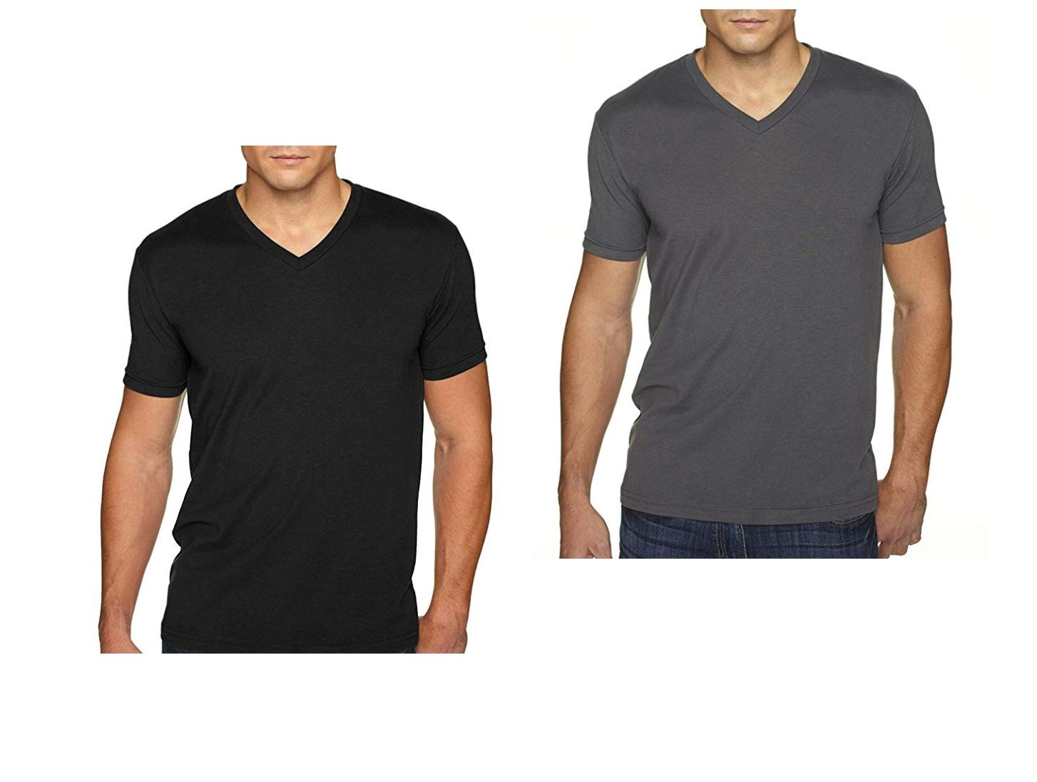 apparel 6440 fitted sueded vneck