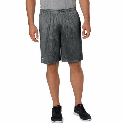 Champion Long Mesh Men's Shorts Pockets