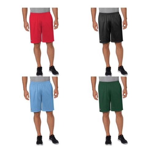 champion long mesh men s shorts