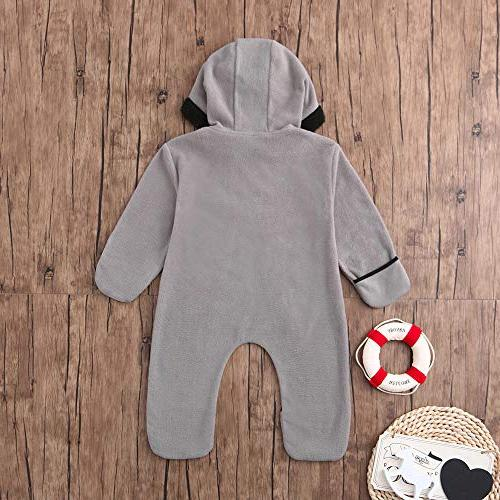 Clearance!!Toddler Infant Boys Cartoon Warm Hoodie Jumpsuit Party