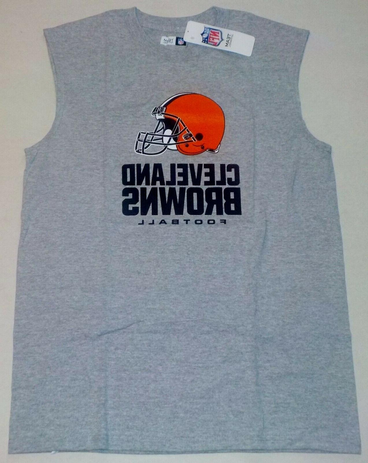 cleveland browns muscle t shirt tank top