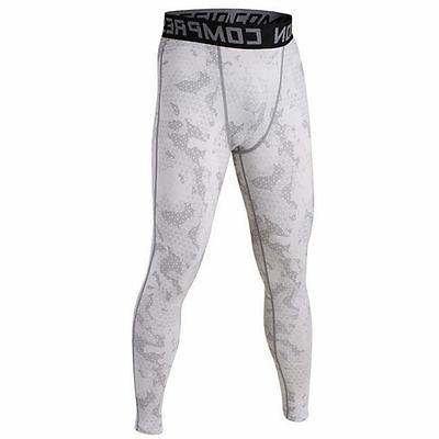 Compression Pants Layer Men Sports Long Fitness