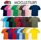 Fruit of the Loom Cotton Plain Blank Men's Women's Tee Shirt
