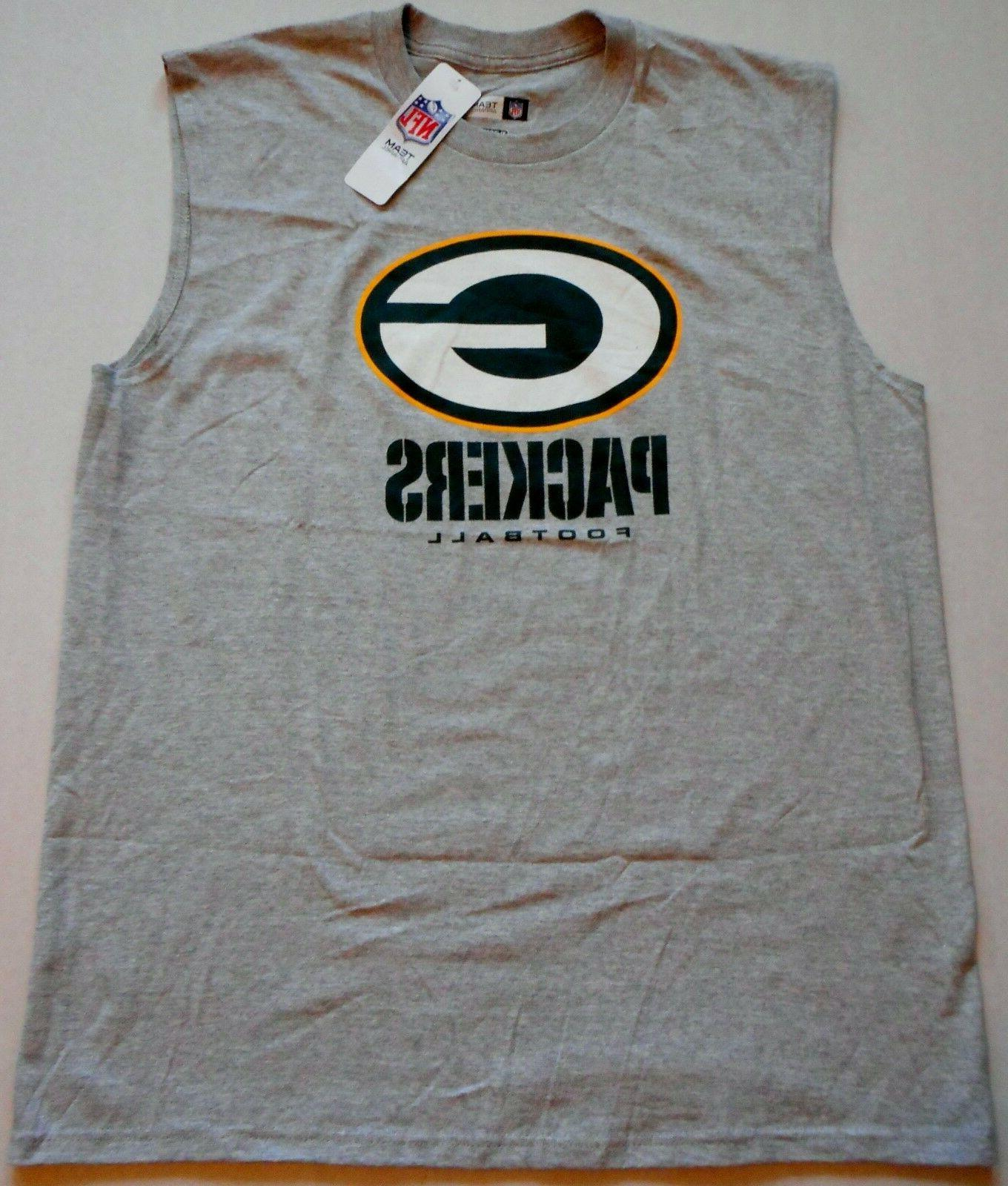 GREEN BAY PACKERS NFL TEAM APPAREL MUSCLE T SHIRT TANK TOP M