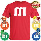 Halloween Costume T-Shirt M & M Youth & Adult