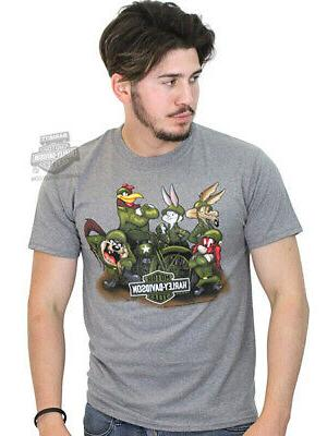 WW2 Ash Grey Biker T-Shirt
