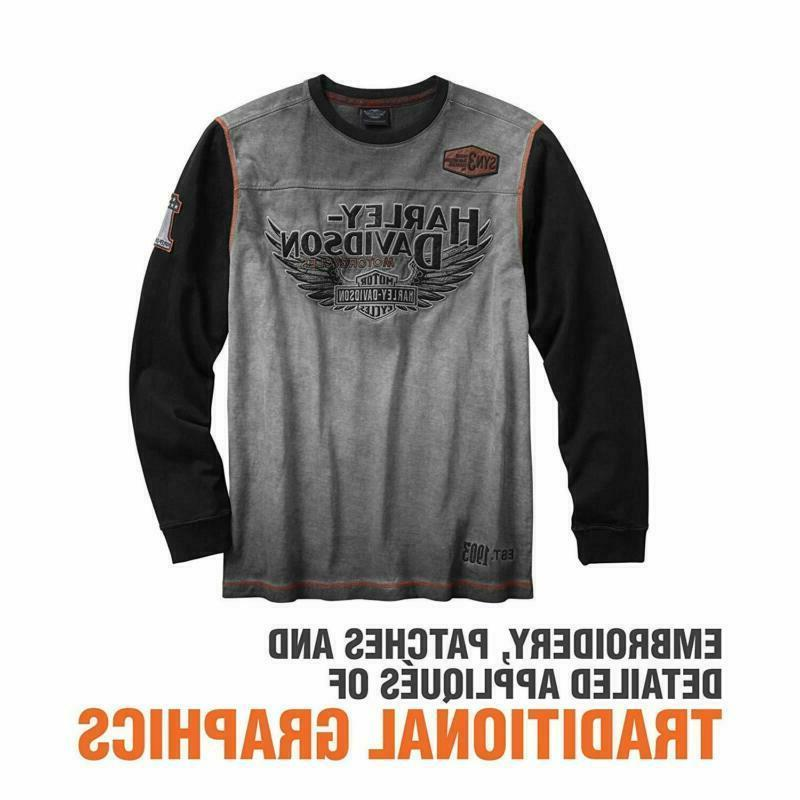 Harley-Davidson Official Iron Block Grey