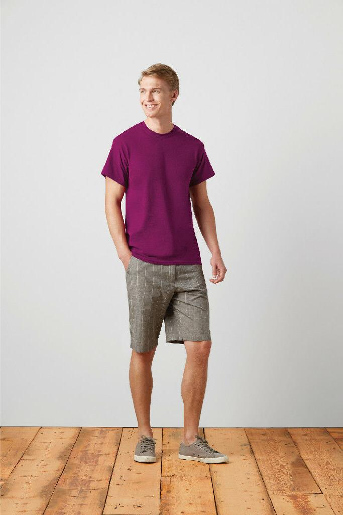 Gildan Cotton 5.3oz Mens Short Tee 5000
